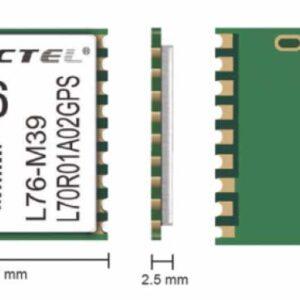 ابعاد ماژول L76 کویکتل