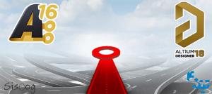 آموزش تصویری آلتیوم - مسیریابی خودکار