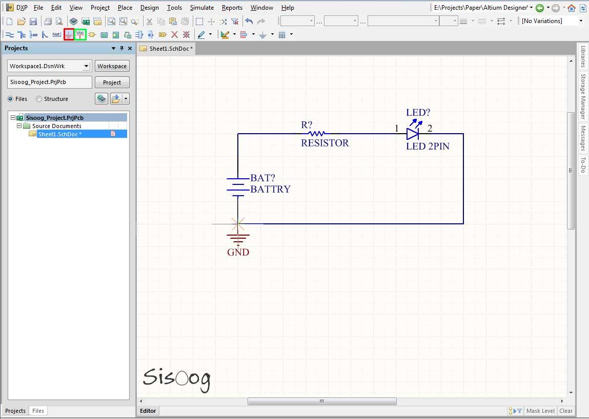طراحی برد مدار چاپی