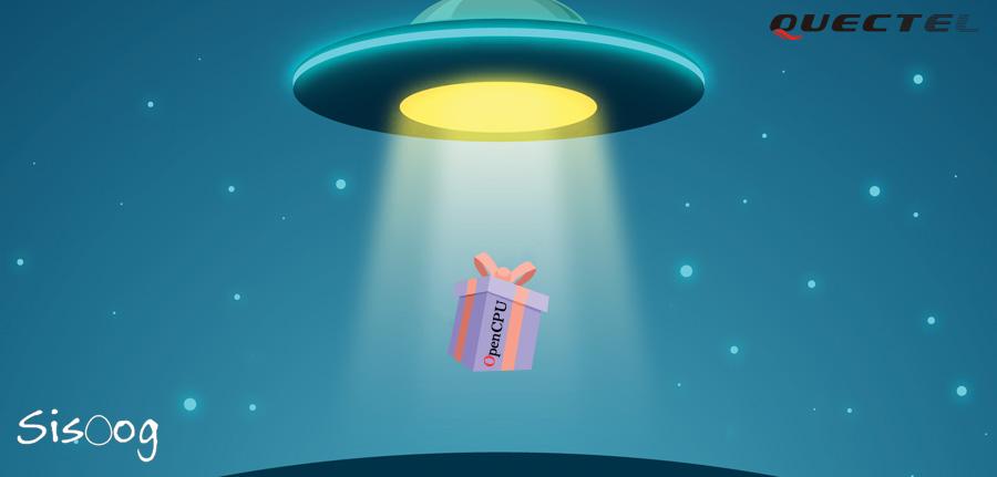 OpenCPU هدیه UFO ها