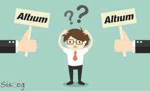 انتخاب ورژن آلتیوم