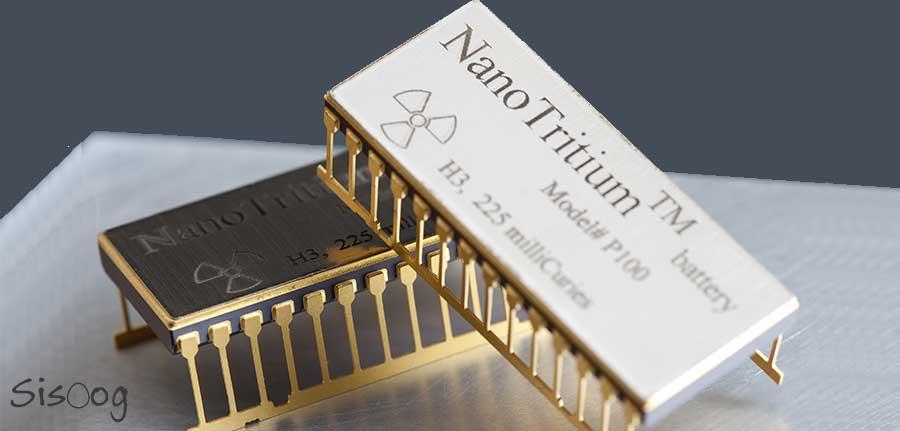 باتری با عمر 20 ساله NanoTritium