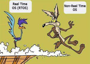سیستم عامل بلادرنگ در مقابل سیستم عامل با درنگ