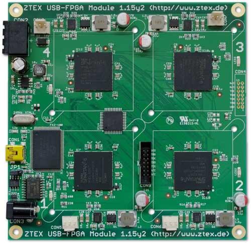 برد FPGA جهت ماینینگ