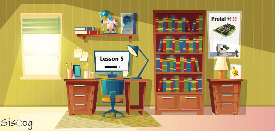آموزش آلتیوم دیزاینر قسمت 5