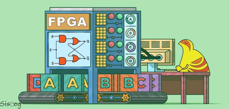 آموزش FPGA و زبان VHDL