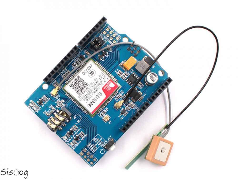 راه اندازی SIM808 با آردوینو