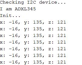 راه اندازی ADXL345 با اردوینو