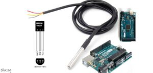 راهاندازی سنسور دما DS18b20 با آردوینو