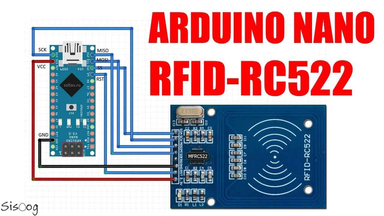 راهاندازی RC522 با اردوینو