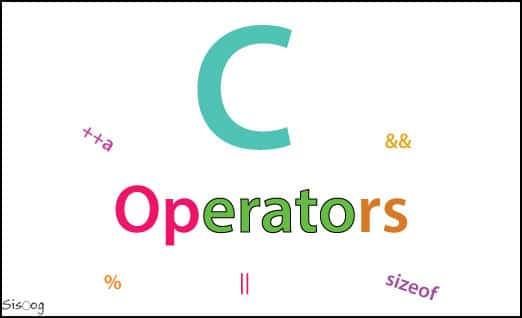 عملگر در زبان برنامهنویسی C