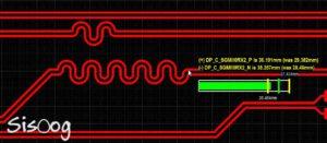 مسیریابی طراحی بردهای سرعت بالا