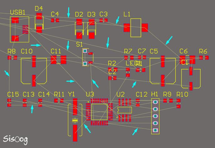 خطوط راهنما در محیط PCB آلتیوم دیزاینر