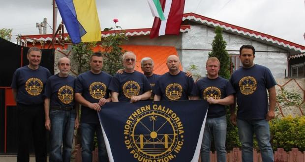 گروه رادیوآماتوری از کشور اوکراین