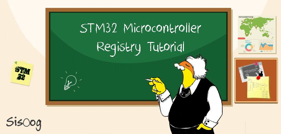 آموزش میکروکنترلر Stm32f10x به صورت کاملا رجیستری
