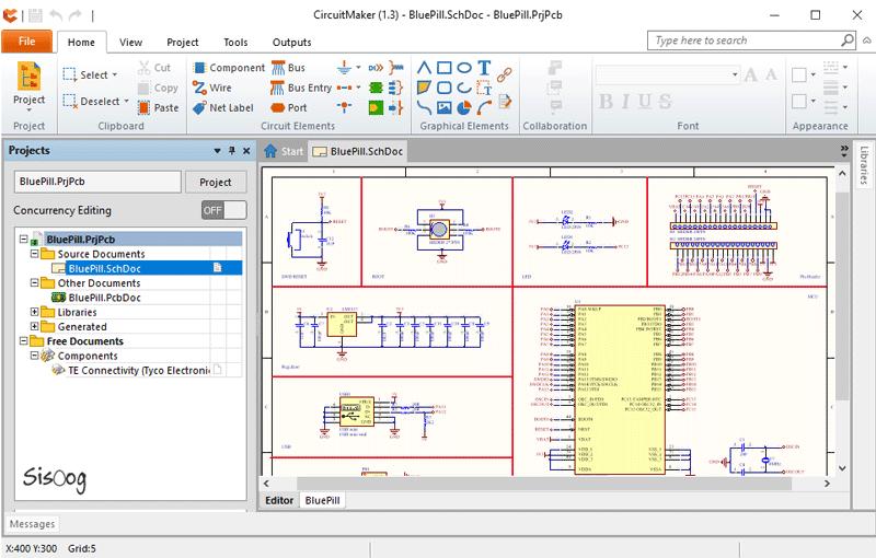 نرم افزار Circuit-Marker