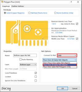 تنظیمات پلیگان در آلتیوم دیزاینر 16