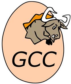لوگو کامپایلر GCC برای زبان C/C++