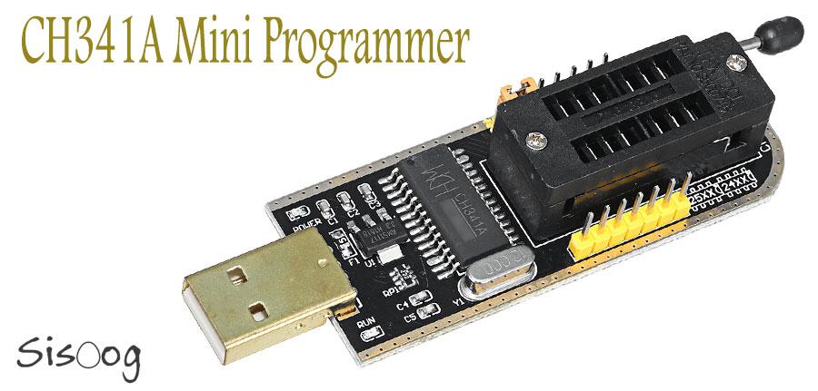 پروگرامر ch341a