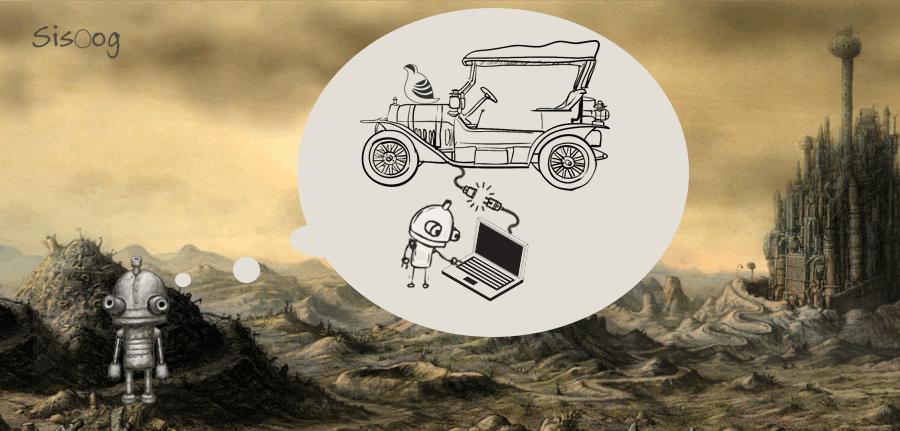 سیسوگ و ماشیناریوم در حال دیاگ کردن خودرو