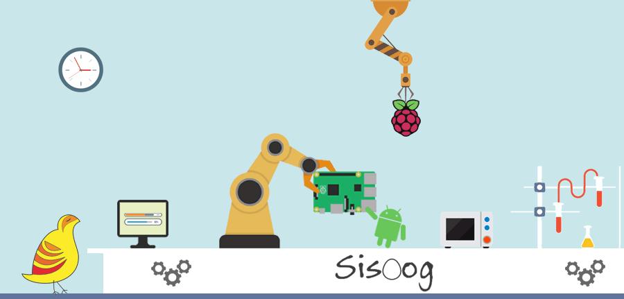 سیسوگ در سیستم عامل رزبری پای