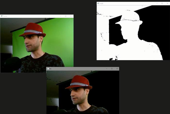 فیلتر رنگ در ویدئو