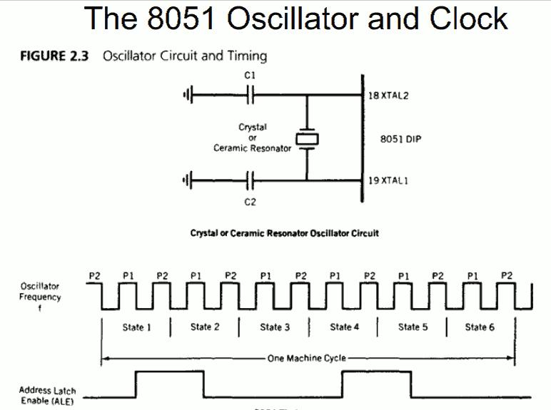کلاک ورودی هسته 8051