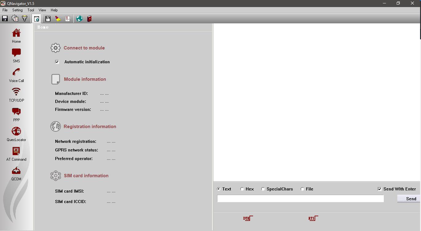 محیط نرم افزار QNavigator برای ماژول های کویکتل