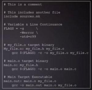 میک فایل - make file