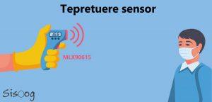 راهاندازی سنسور دما MLX90615 با آردوینو