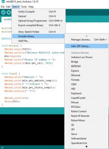 Add Library Arduino
