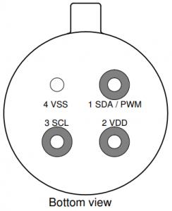 سنسور دما MLX90615