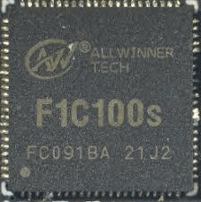 F1C100s SOC from top