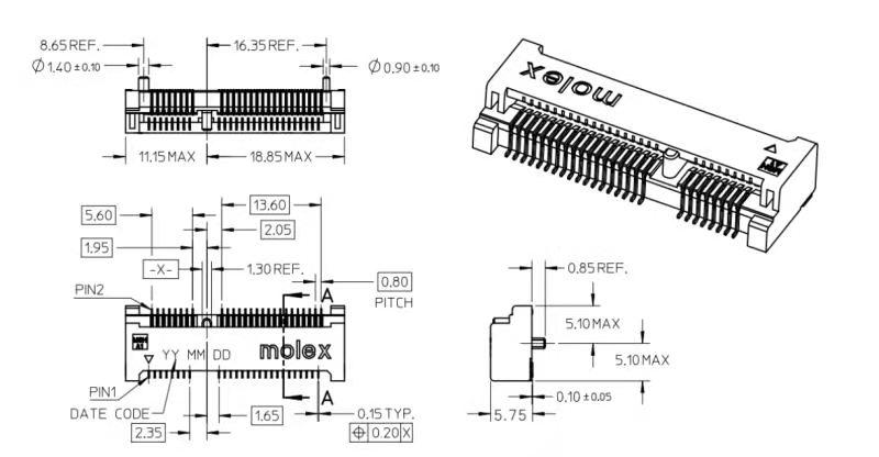 Mini PCI Express Connector