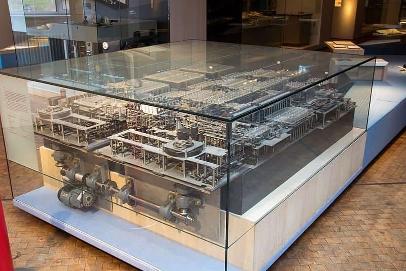 نمونه باز سازی شده Z1 در موزه برلین