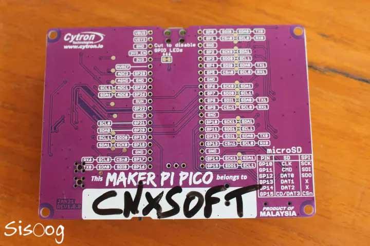 برچسب نام Maker Pi Pico