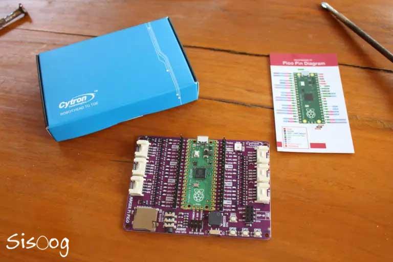 آنباکسینگ Maker Pi Pico