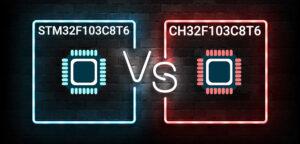 CH32F103C8T6 یا STM32F103C8T6