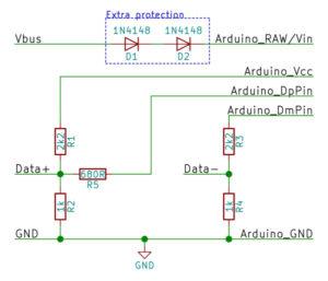 مدار آردوینو شارژر QC2.0